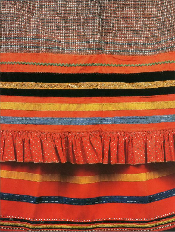 Apron. Detail. <br/>Second half of the 19th century