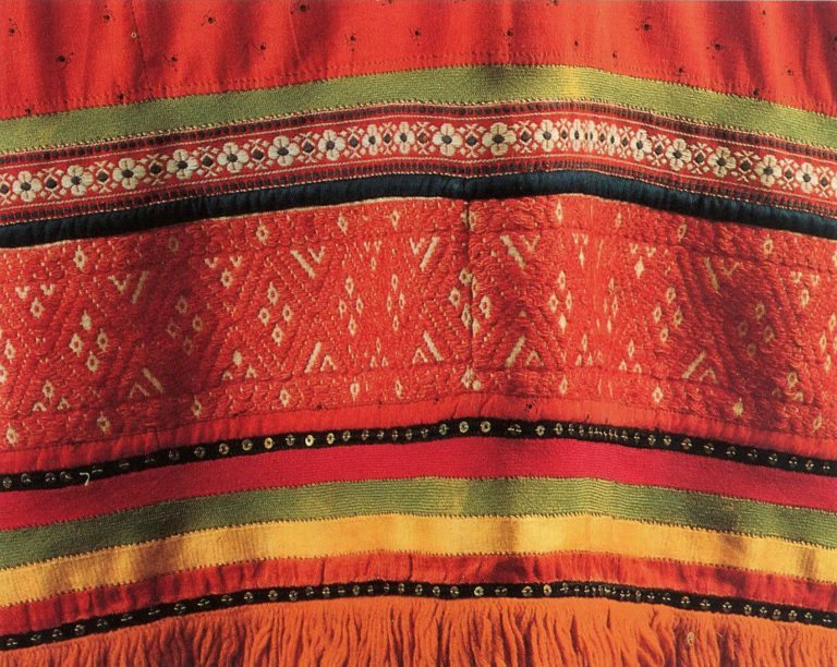 Apron. Detail. Second half of the 19th century