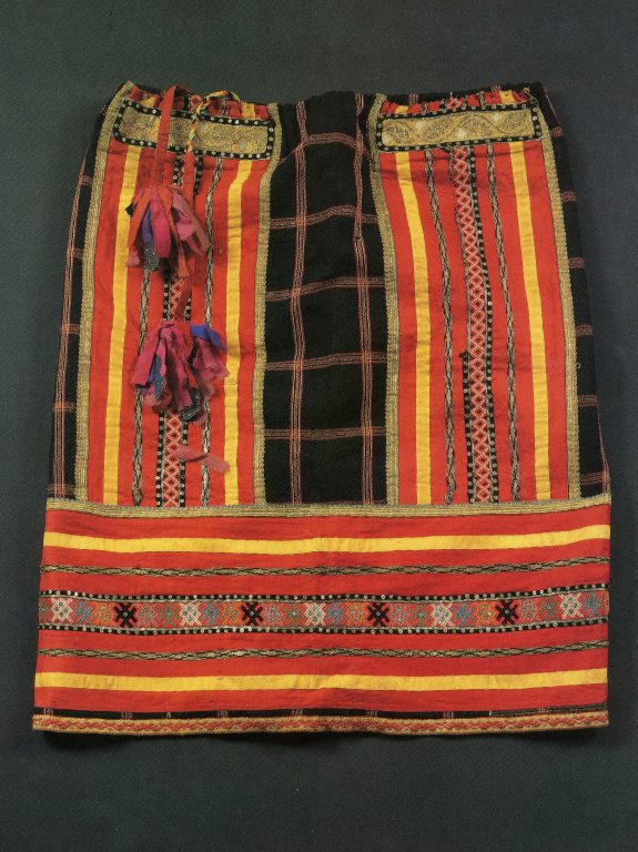 Festive ponyova petticoat. <br/>Late 19th century