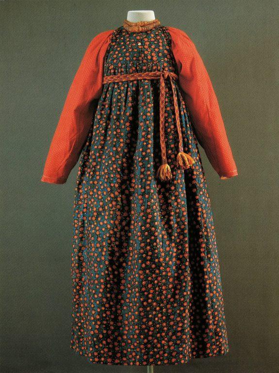 Праздничная одежда. Конец 19 века