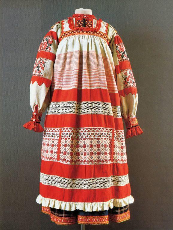 Праздничная одежда крестьянки. <br/>Начало 20 века