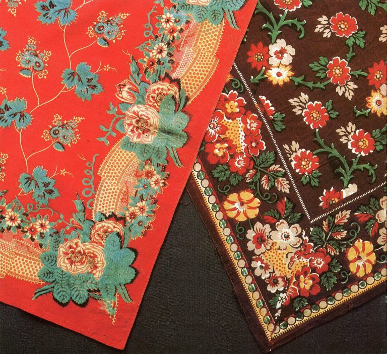 Shawls. <br/>Second half of the 19th century