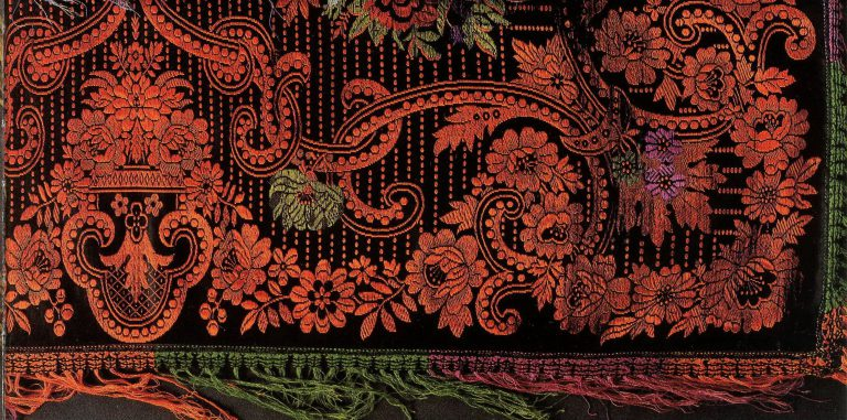 Shawl. Detail. <br/>Late 19th century