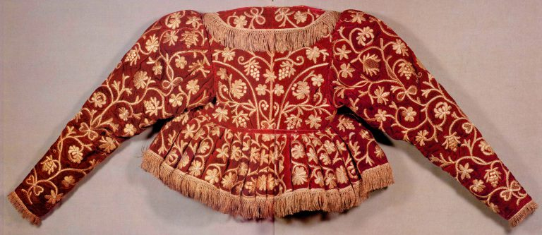 Women's padded jacket. Late 18th or early 19th century
