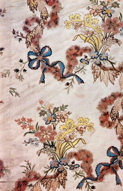 Skirt. Detail. <br/>Mid-18th century