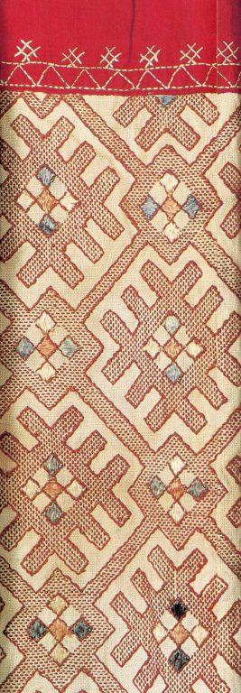 Заготовка рукава женской рубахи. <br/>Вторая половина 19 века