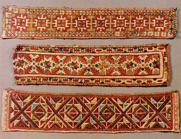 Образцы вышивки. <br/>Вторая половина 19 века