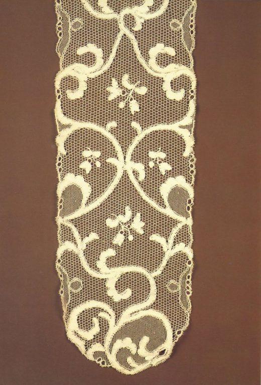 Neckerchief. Detail . <br/>Mid-19th century