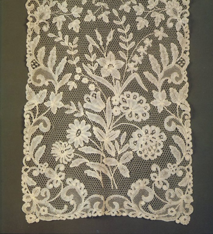 Scarf. Detail . <br/>Mid-19th century