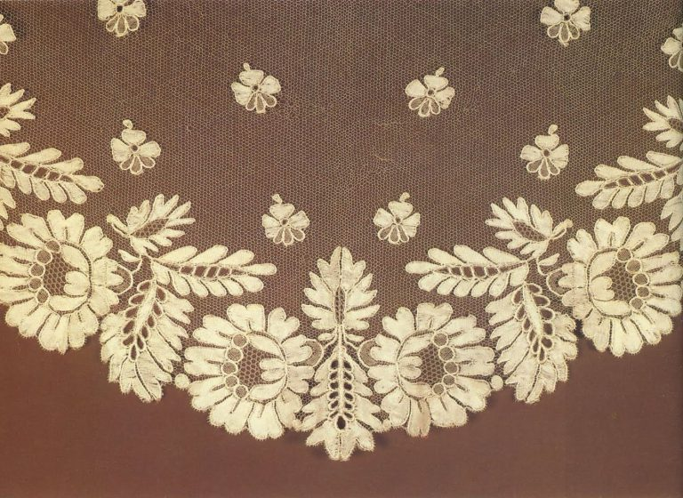 Neckerchief. Detail . <br/>1820 год