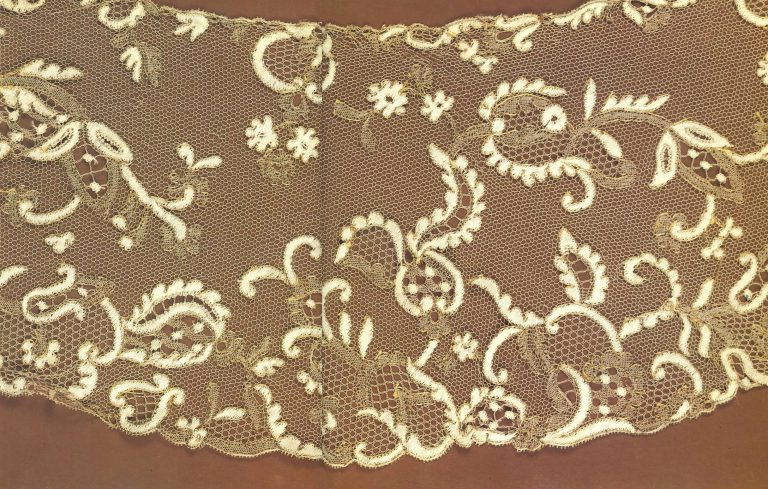 Collar. Detail . <br/>Mid-19th century