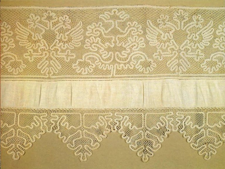 Bed valance. Detail