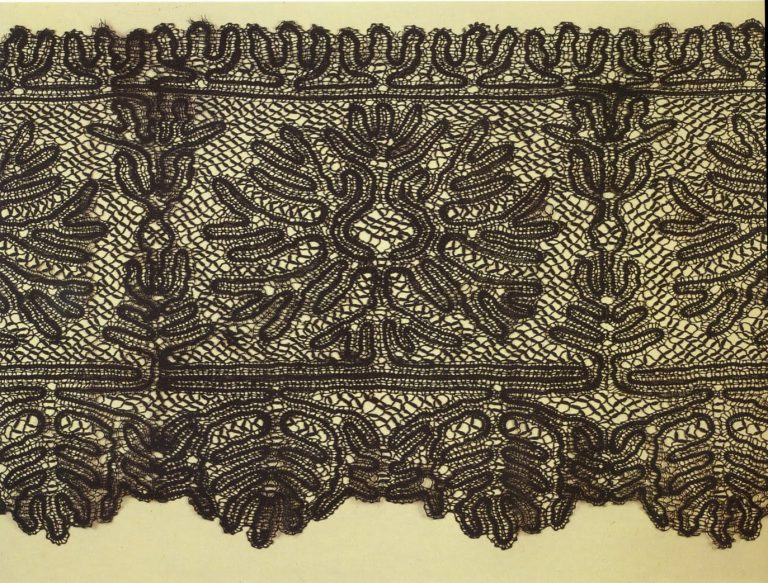 Scarf. Detail. <br/>Late 19th century