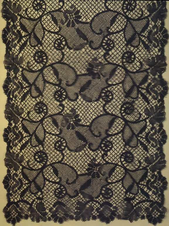 Scarf. Detail. <br/>Second half of 19th century