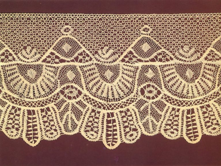 Edging. Detail. <br/>Late 19th century