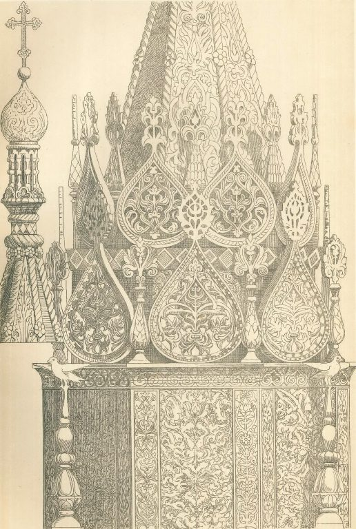 Upper part of the tabernacle