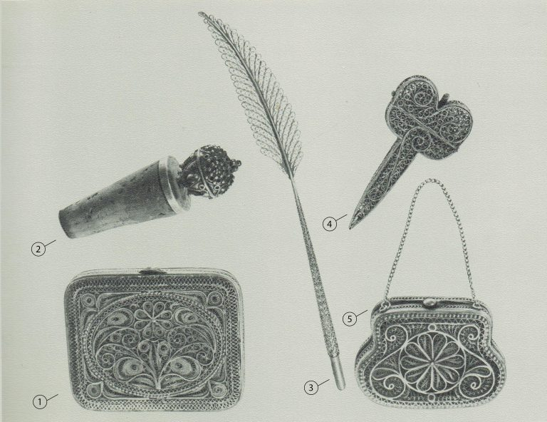 Purse (in the picture - 5). <br/>Late 19th century