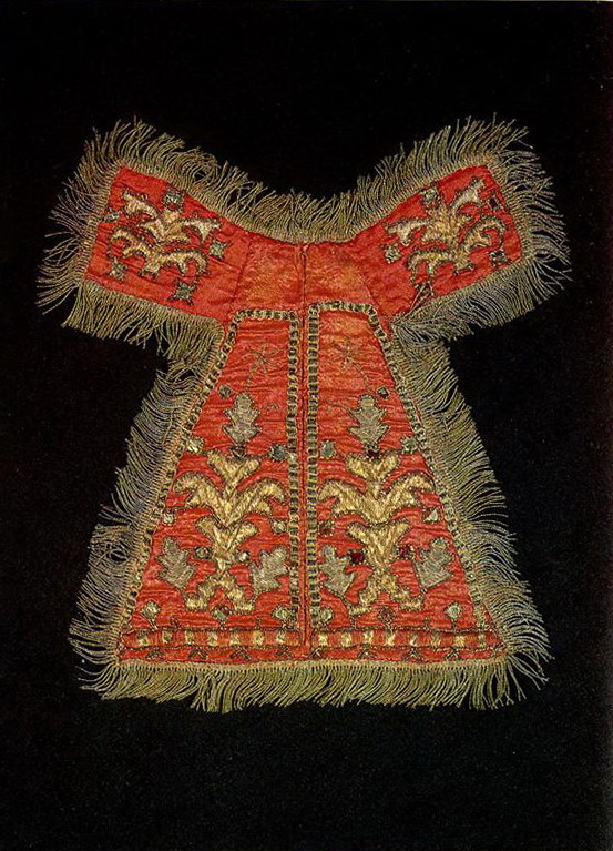 Vologda chestplates with plant motifs