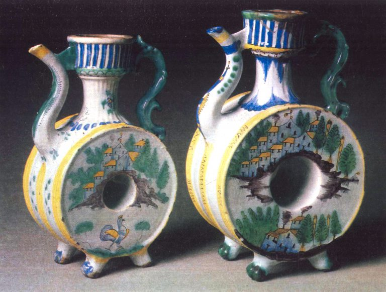Kvassnik (vessel for kvass storage). 1778 year