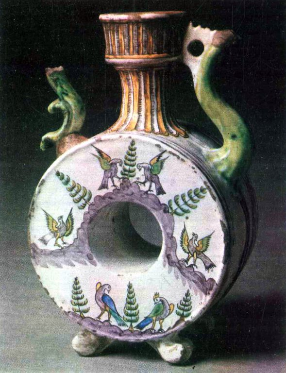 Kvassnik (vessel for kvass storage). <br/>Last third of 18th century