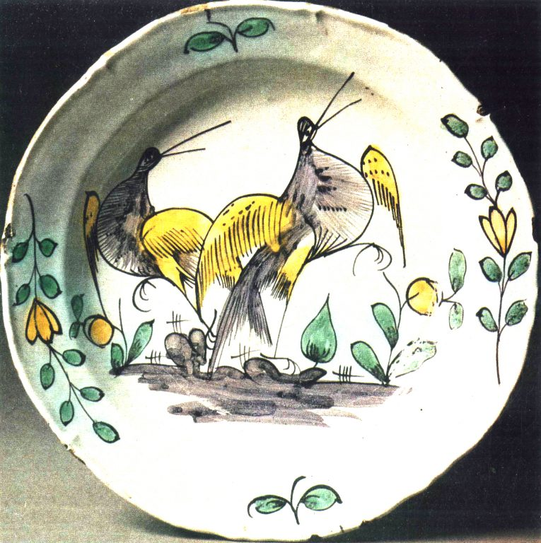 Dish. <br/>Last third of 18th century
