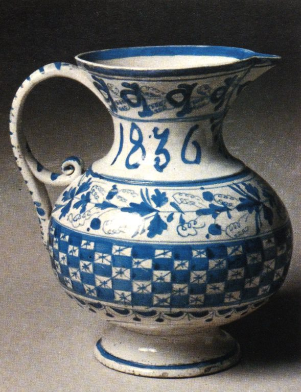 Pitcher. <br/>1836 year
