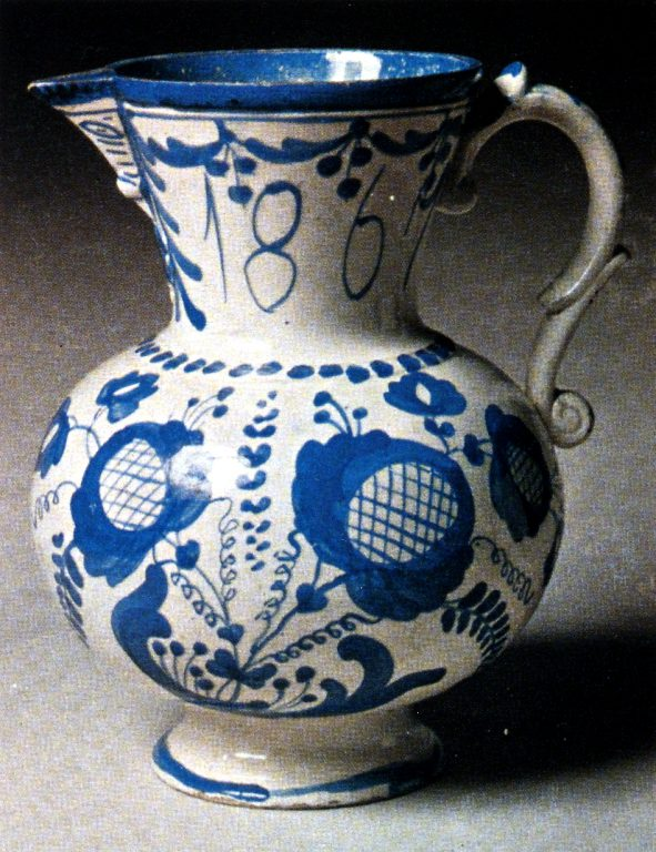 Pitcher. 1867 year