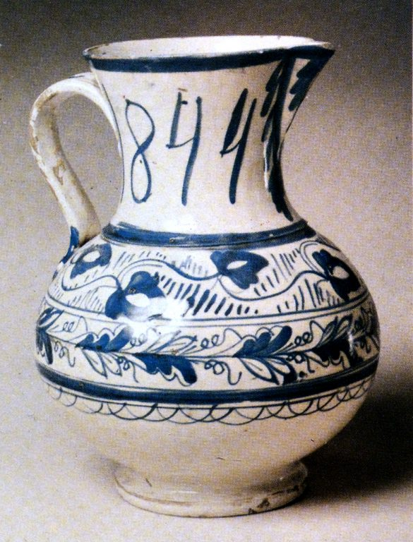 Pitcher. 1844 year