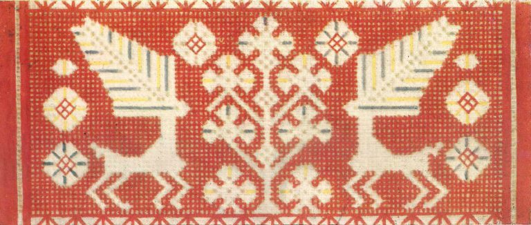 Towel. <br/>19th century