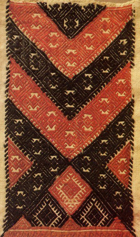 Нагрудник женский кабачи. <br/>Конец 19 века