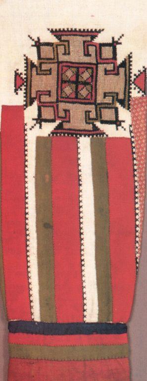 Вышивка рукава женской рубахи. <br/>Начало 20 века