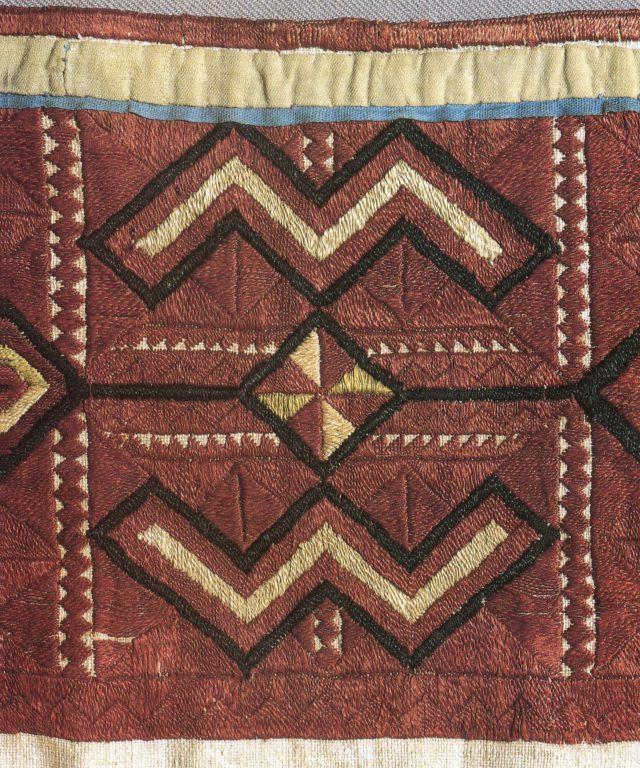 Фрагмент ритуального пояса зар. <br/>Вторая половина 19 века