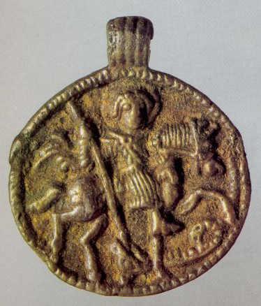 Zmeevik (medallion). <br/>1st half of the 12th century