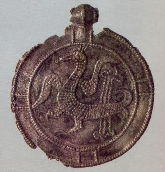 Medallion. <br/>Late 14th century