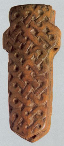 Needle-case decorated with bound ornament. 1st half of the 13th century