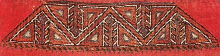 Женская налобная повязка масмак низовых чувашей. <br/>18 - 19 век