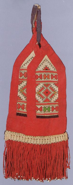 Women's belt decoration of the mid-lower Chuvash. <br/>19th century