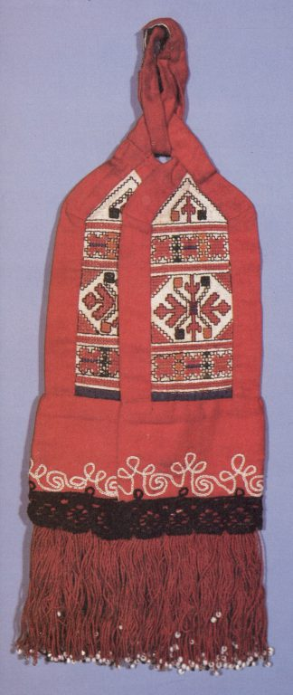 Women's belt decoration of the lower Chuvash. <br/>19th century