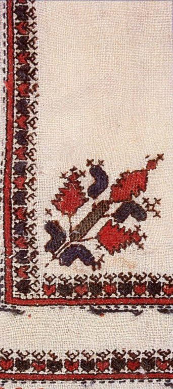 "Embroidery of ""Шупӑр"" Men's Gown. <br/>18th century"