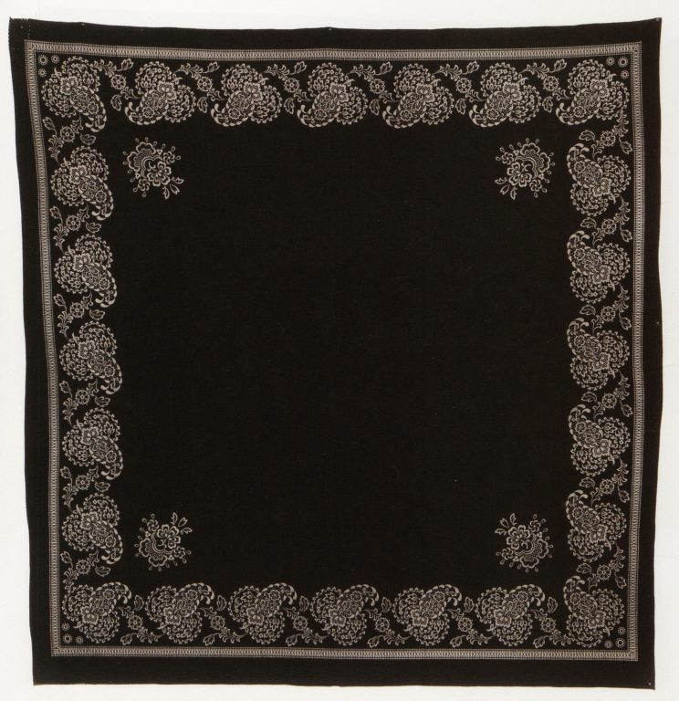 Headscarf. Late 19th century