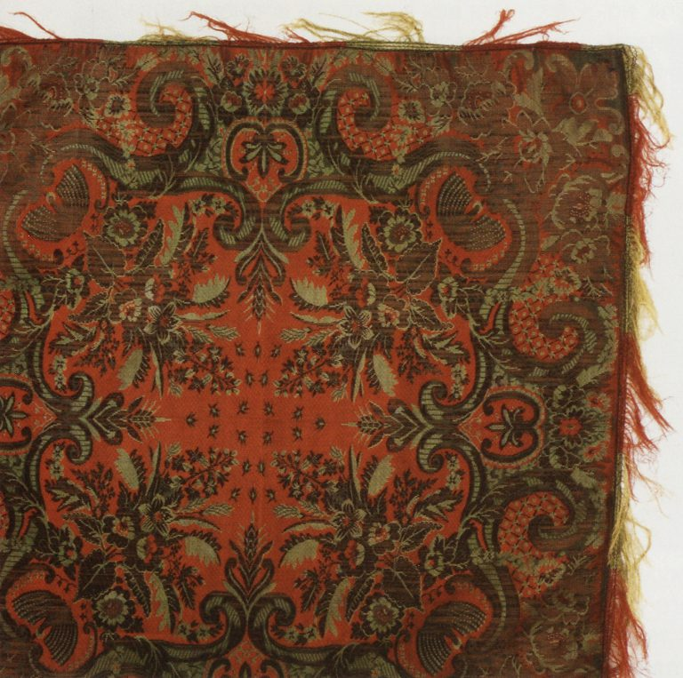 Shawl. <br/>Late 19th century