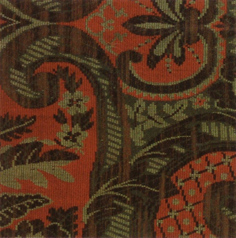 Shawl. Fragment. <br/>Late 19th century