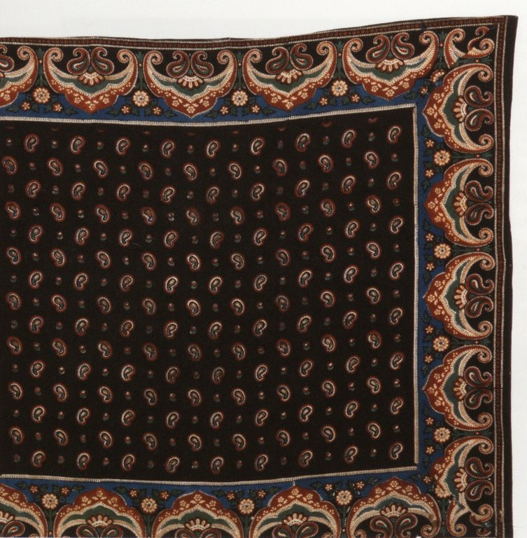 Headscarf. <br/>Late 19th century - early 20th century