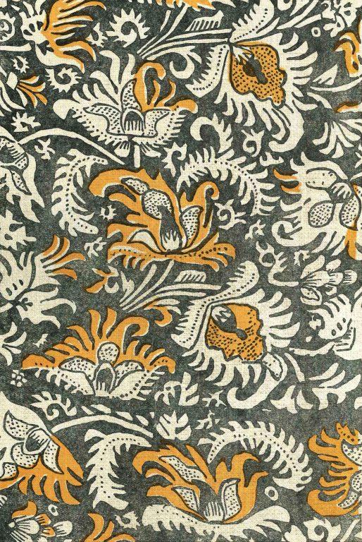 Набивная ткань. <br/>17 век