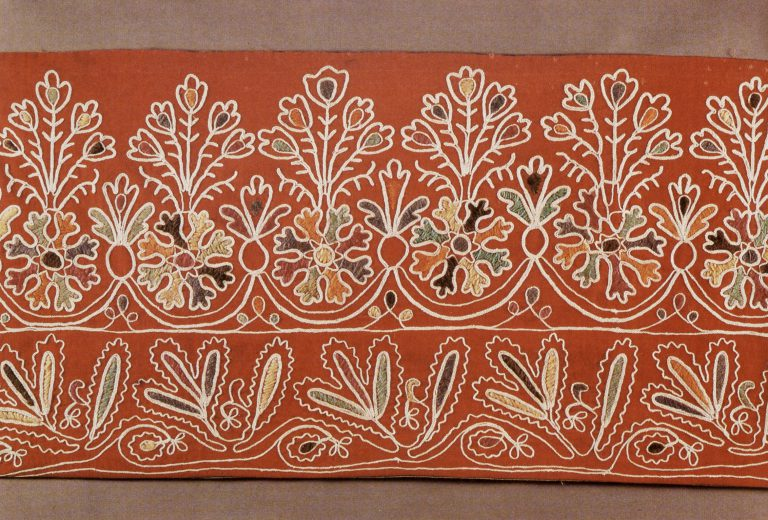Podzor (lace edging). Fragment. <br/>Early 20th century