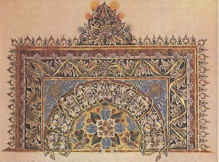 Заставка из Евангелия. 1605 год