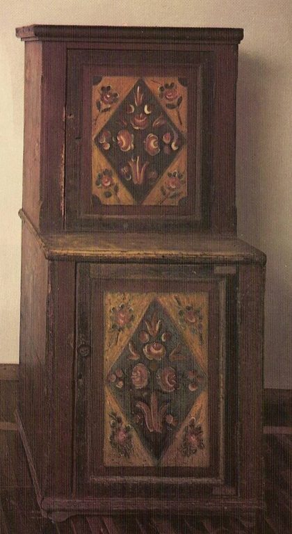 Cupboard. Mid-19th century