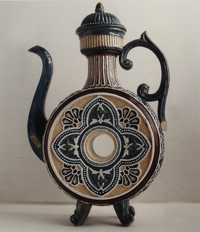 Kvassnik (vessel for kvass storage). <br/>1880ies