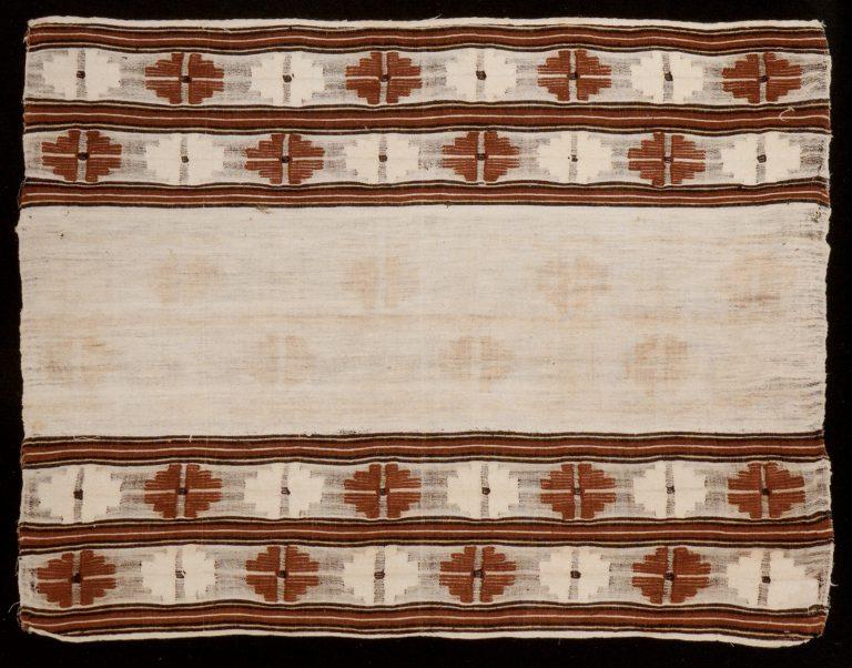Igiyar towel. <br/>Early 20th century