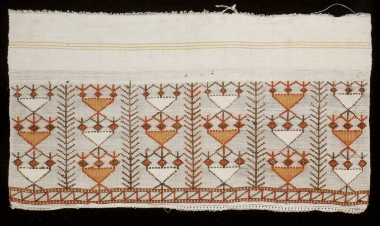 Igiyar towel. Early 20th century
